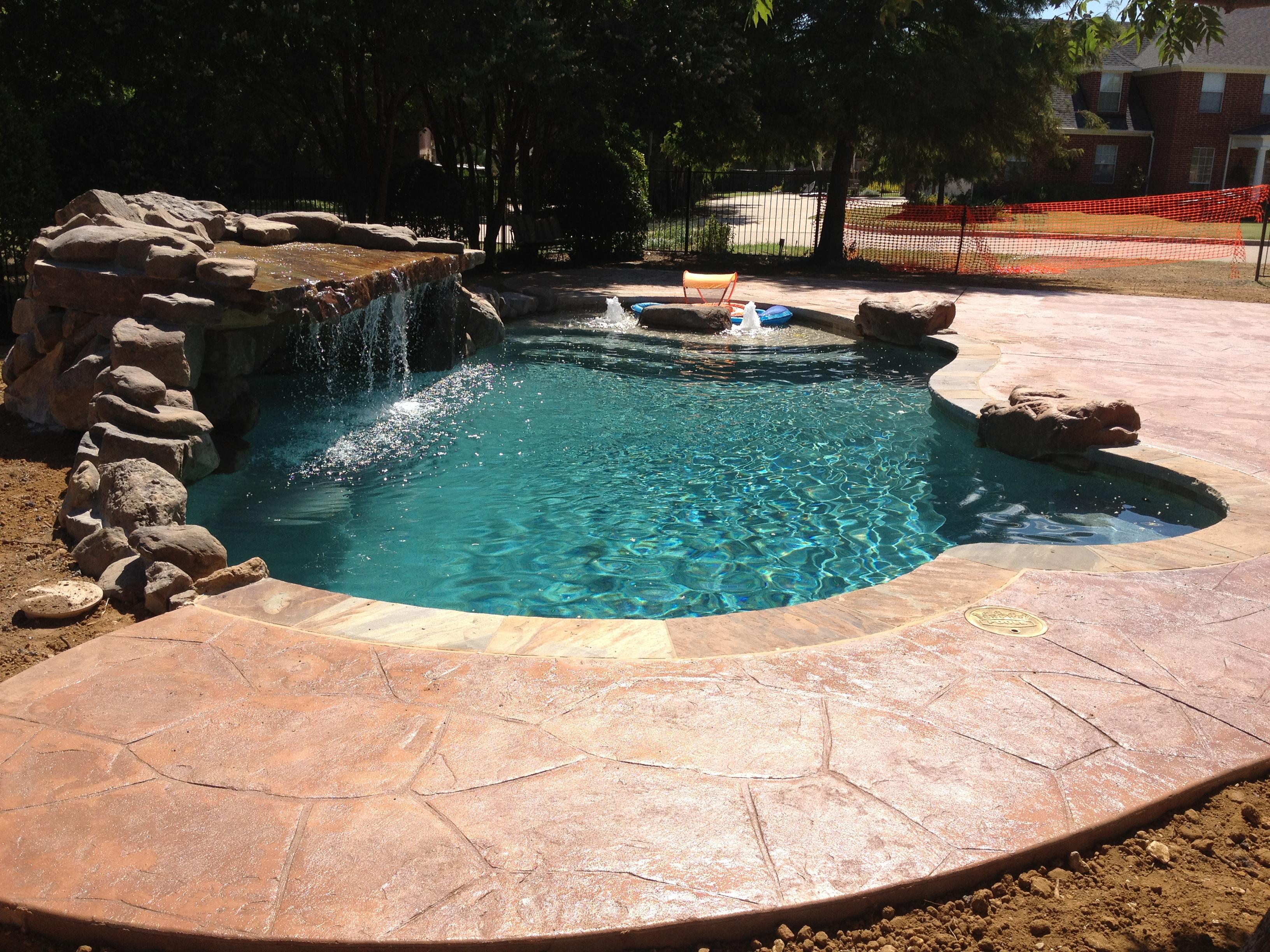 Water Feature Photos Dallas Allen Grottos Desoto Pool