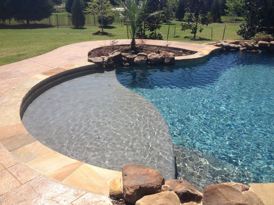 Custom pool photos dallas desoto inground pools allen - Custom above ground pool ...