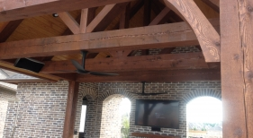 Decorative Cedar Beams
