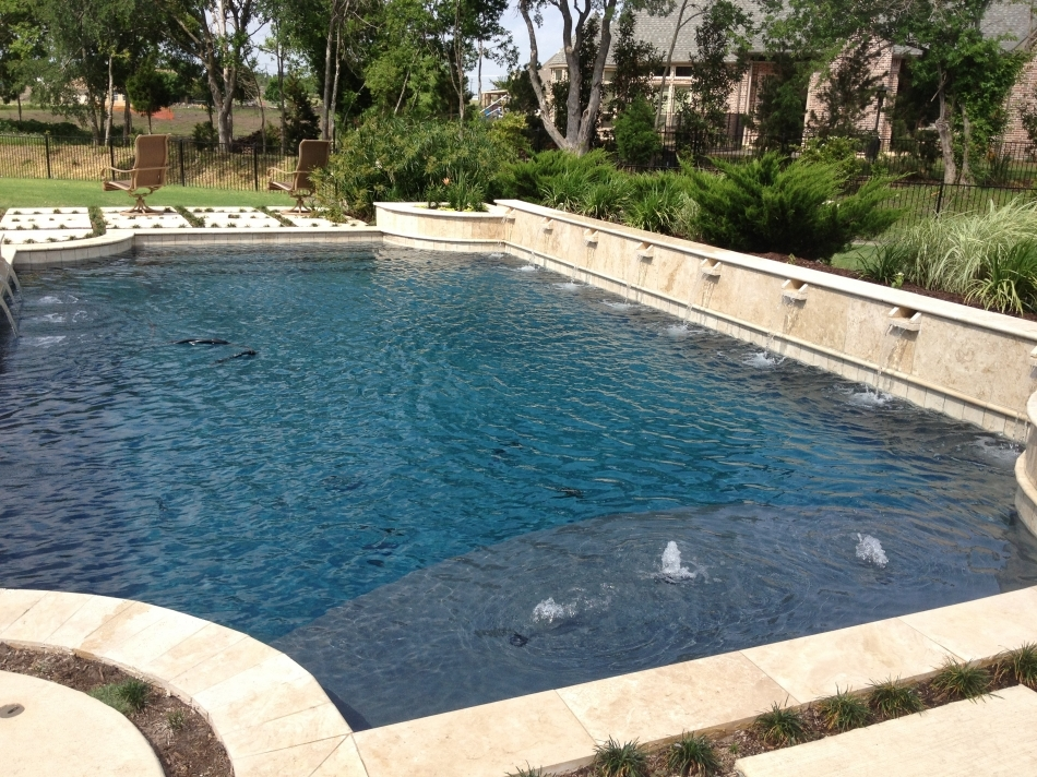 Pool and Spa with Bubblers