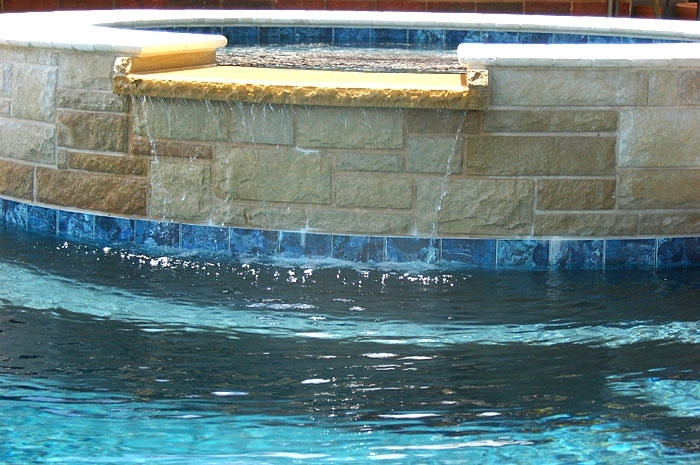 Pool with Sheer Descent