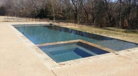 Geometric Pool & Spa Combination (2)