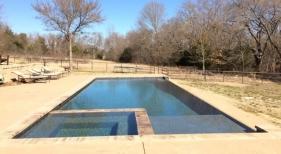 Geometric Pool & Spa Combination
