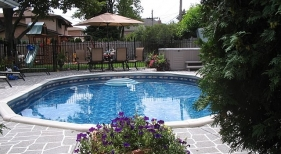 Above Ground Pool & Spa