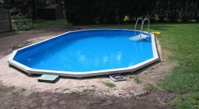 Above Ground Pool Buried Construction