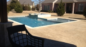 Pool & Spa with Deck Jets