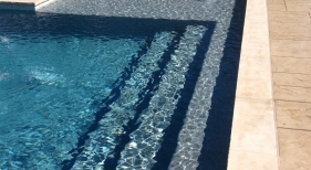 Swimming Pool with Wateredge Pearl Matrix