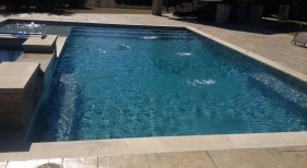 Pool & Spa with Wetedge Pearl Matrix