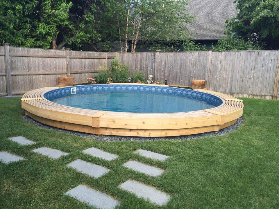 Crown Pool Affordable Semi Inground Pools In The Dfw