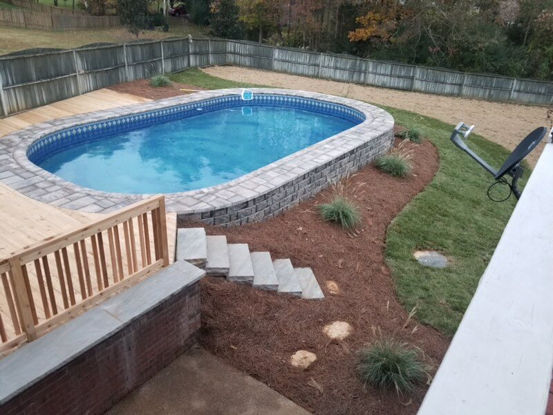 Crown Pool | Affordable Semi-Inground Pools in the DFW ...